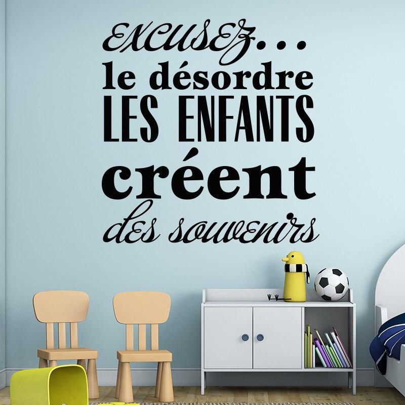 € 13.46 30% de DESCUENTO|Nueva llegada diseño moderno para el comedor los  niños crean recuerdos vinilo pared pegatina francés buena memoria hogar ...