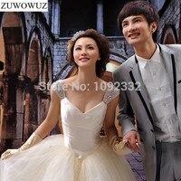 sexy hot 2017 new plus size stock lace wedding dress women bridal gown bling beads diamond vestidos de noiva ball gown 1060