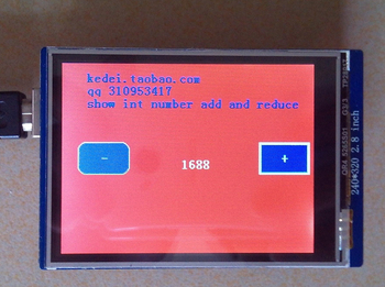 [LAN] - LCD 2.8 inch TFT with touch with SD UNO Card R3 (D1A5)  --5PCS/LOT