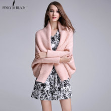 PinkyIsBlack sweater Women Cardigans Autumn Winter Open Stitch Poncho Knitting Sweater Cardigans V neck Oversized Cardigan white open front floral print cardigans