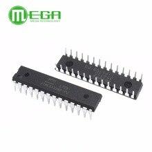 新しいATMEGA328P PU icチップ · マイクロコントローラmcu avr 32 18k 20 433mhzのフラッシュdip 28
