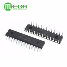 Nuovo ATMEGA328P PU IC chip microcontrollore MCU AVR 32K 20MHz FLASH DIP 28