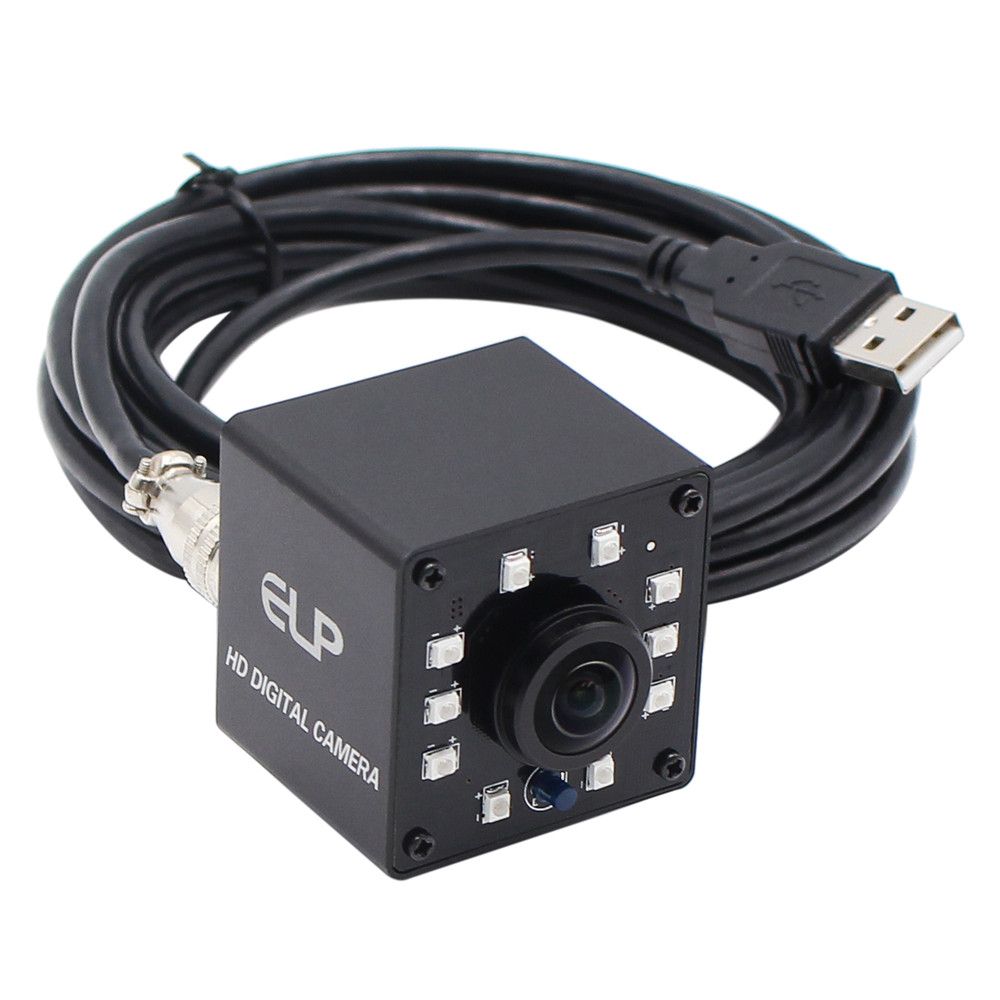 ELP camera 2 megapixel FULL HD 1080P OV2710 wide angle infrared mini usb PC camera webcam for ATM machine