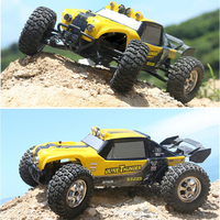 New Hot sales Toys RC Car HBX 12891 1/12 2.4G 4WD Waterproof Hydraulic Damper RC Desert Buggy Truck with LED Ligh VS WL A959