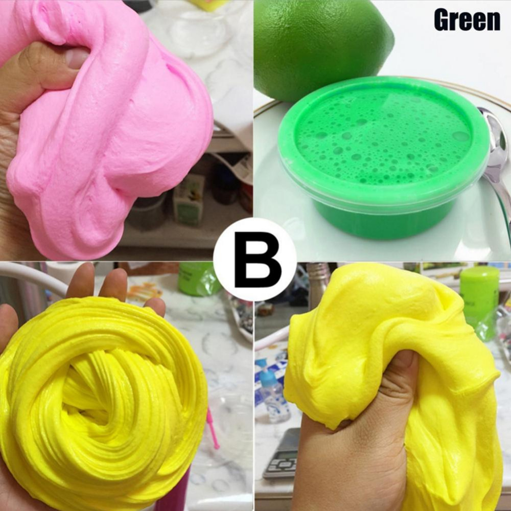 DIY-Slime-Clay-Fluffy-Floam-Slime-Scented-Stress-Relief-No-Borax-Kids-Toy-Sludge-Cotton-Mud-to-Release-Clay-Toy-Plasticine-Gifts-3