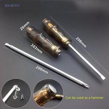 40*75 мм регулируемый двойного назначения шлицевая отвертка