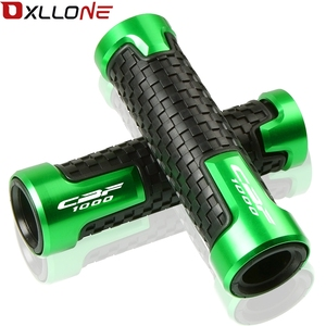 """Image 2 - 7/8""""22mm Motorcycle CNC Accessories Handlebar Grips & Handle bar ends Universal Hand cap For CBF1000/A CBF 1000 A 2006 2007 2013"""