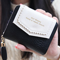 Small Leather Wallets Solid Vintage Matte Women Wallet Fashion Small Female Purse Carteras Mujer Femininas Short Wallet Purse