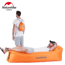 Naturehike Ultralight Inflatable Sofa Air Bed Lazy Bags Portable Air Sofa For Tourism Outdoor Beach Lazy Sofa Camping Cots