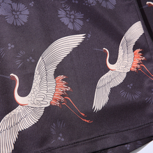 2018 summer Chinese style kimono jacket Cool Japanese cardigan coat Hiphop embroidery Streetwear Open Stitch thin Coats M-5XL