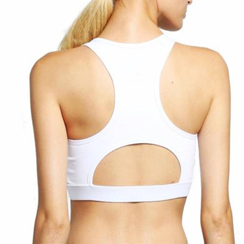 13efa94de4 2019 New Sports Bra Women Shockproof Back Pocket Front Zipper Bras ...
