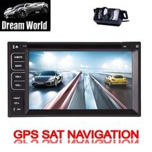 TV Double din GPS Map Car DVD 6.2 Inch Radio Autoradio Stereo tv MP5 SD car gps dvd Screen Auto USB Sub Cam In Deck Receiver swc