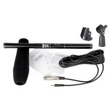 BUB G18 Interview Microfoon Filmen DV Opname Electret Condensator Microfoon 7m Wired Metal Microfoons