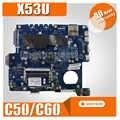 X53U 노트북 마더 보드 PBL60 LA-7322P Asus K53U X53U X53B K53B X53BY X53BR K53B 메인 C50/C60