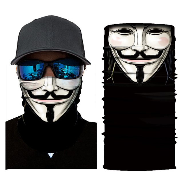 Motorcycle Mask Balaclava Skull Biker Face Shield Mascara Moto Halloween Kominiarka Cagoule Visage Ghost Face Mask Motorcycle 4