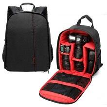 High Quality Digital DSLR Camera Bag Waterproof Photo Backpack Large Insert Camera Backpack Shoulder Bag Travel for Canon Nikon