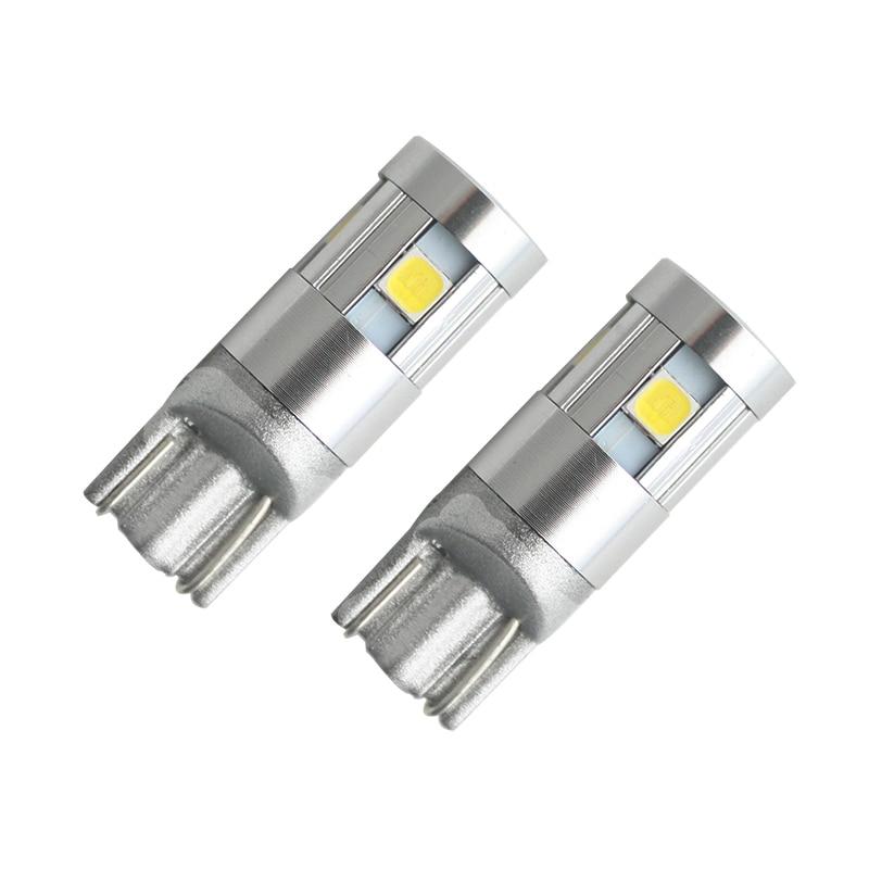 Autós stílusú W5W LED 12V 3030 5SMD automatikus lámpák 168 194 - Autó világítás - Fénykép 2