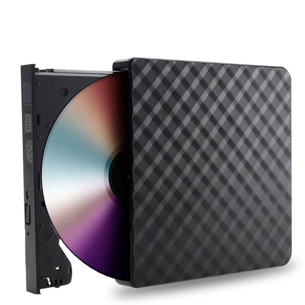 Image 3 - Plaid Slim USB 3.0 External Optical Drive CD/DVD RW ROM Player Burner Reader-in Optical Drives from Computer & Office