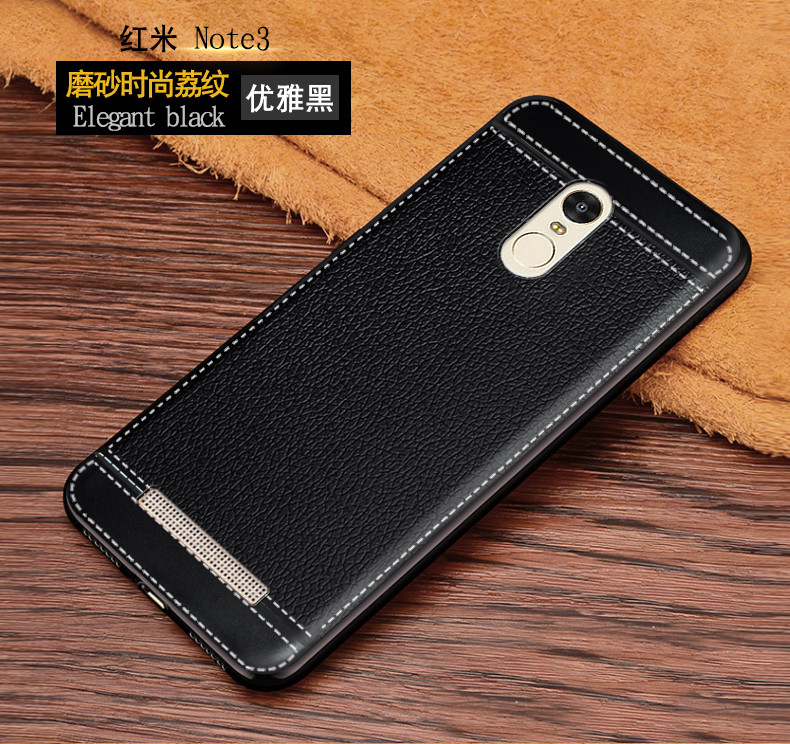 finest selection 1bb4a cb642 Soft TPU Case For Xiaomi Redmi Note 3 Pro 150Mm Leather Case + Soft  Silicone Phone Bumper Fitted Case For Xiaomi Redmi Note 3