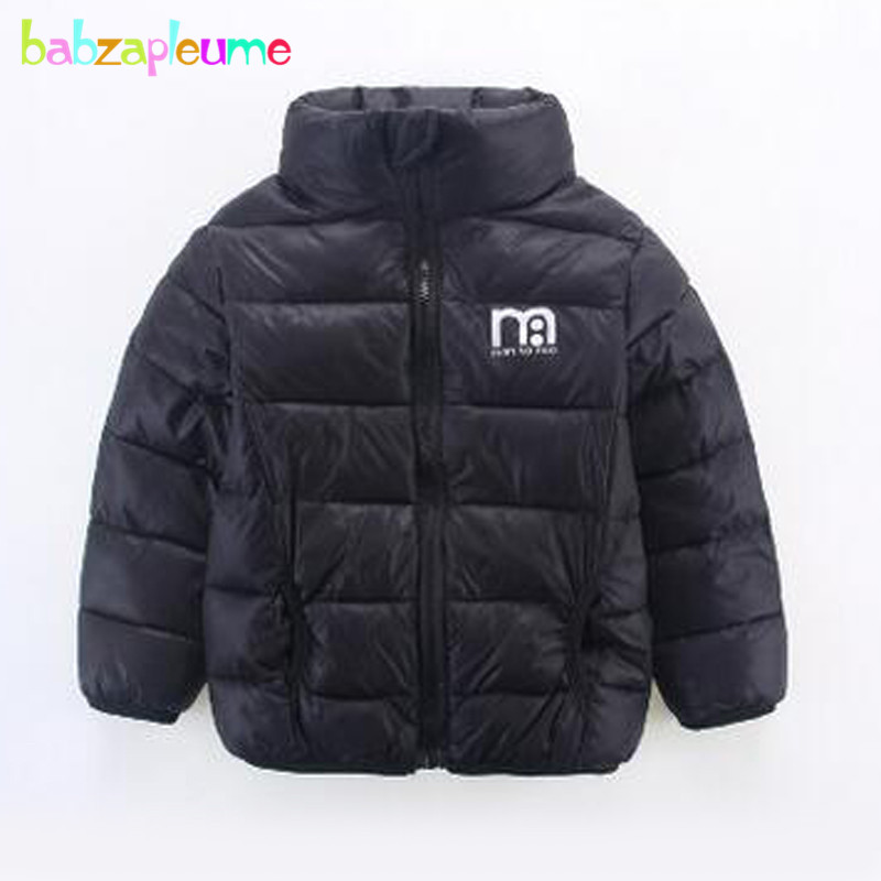 3 7Years Autumn Winter Clothing Children s Jackets Warm Thick Baby Boys Girls Coats Casual Infant