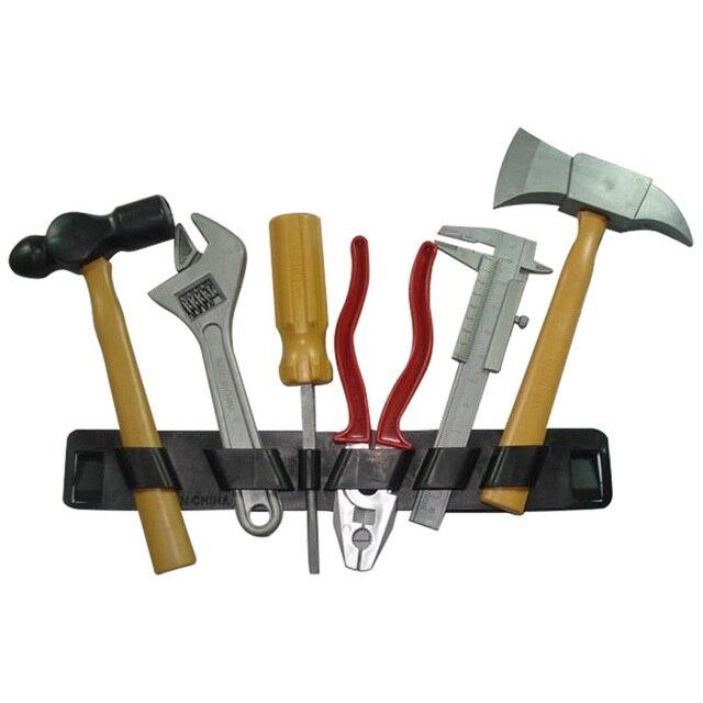 6 шт./компл. пластиковые строительные набор инструментов для ремонта детские игрушки для ролевых игр DIY образовательное строительство игровой дом модель игрушки для детей P20
