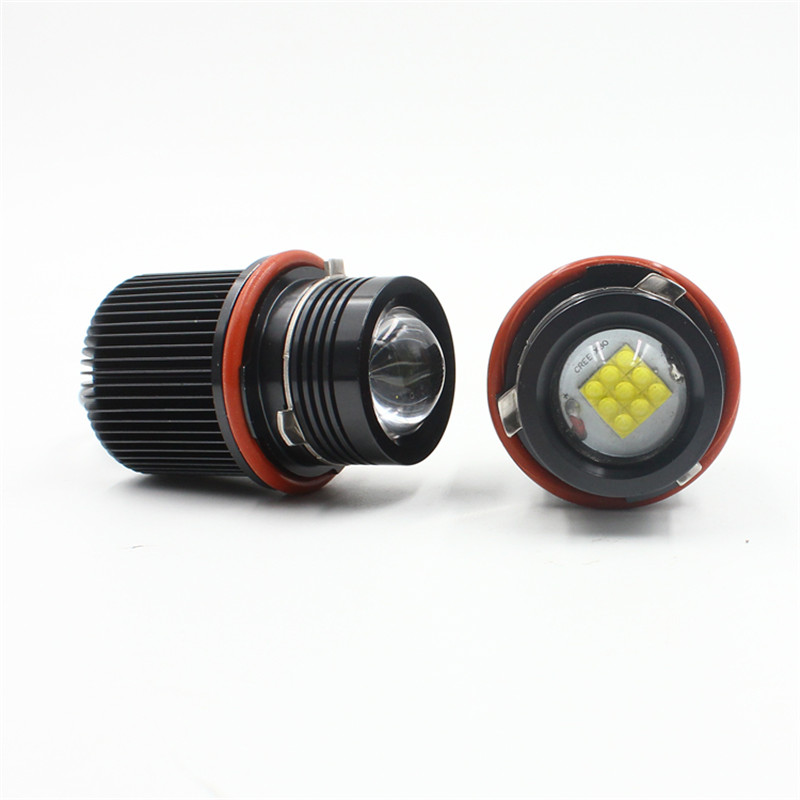 FSTUNING 12V 45W canbus E39 headlight LED Angel Eyes Marker Bulbs for BMW E39 LED X5 E53 E60 E61 E63 E65 E66 angel eyes моторное масло mobil 1 fs 5w 30 1 л синтетическое 153749