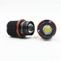 FSTUNING 12V 45W canbus E39 headlight LED Angel Eyes Marker Bulbs for BMW E39 LED X5 E53 E60 E61 E63 E65 E66 angel eyes