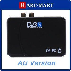 USB Digital Satellite DVB-S SDTV TV Tuner Receiver Box for PC AU Plug + Retail Box #EC308