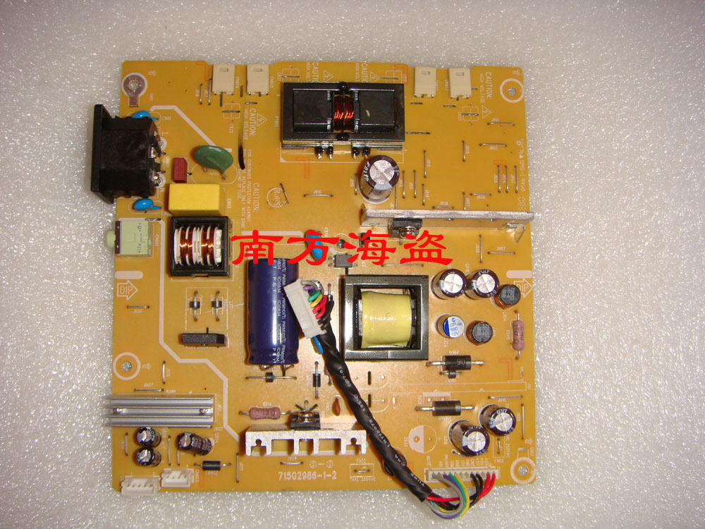 Free Shipping>715G2986-1-2 190S9 190SW 190SW9 Power Board-100% Tested Working free shipping 715g2986 1 2 190s9 190sw 190sw9 power board 100% tested working