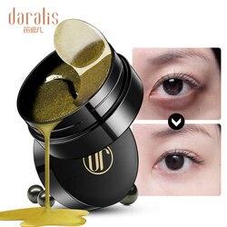 Черная жемчужная Золотая коллагеновая маска для глаз 60 шт. гелевые пластыри мешки для удаления морщин темные круги для ухода за кожей лица