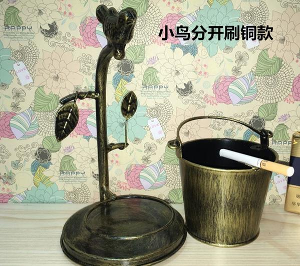 New Arrival Metal Bucket Ashtray Home Bar Accessories Cigarette Ash - Household Merchandises - Photo 4