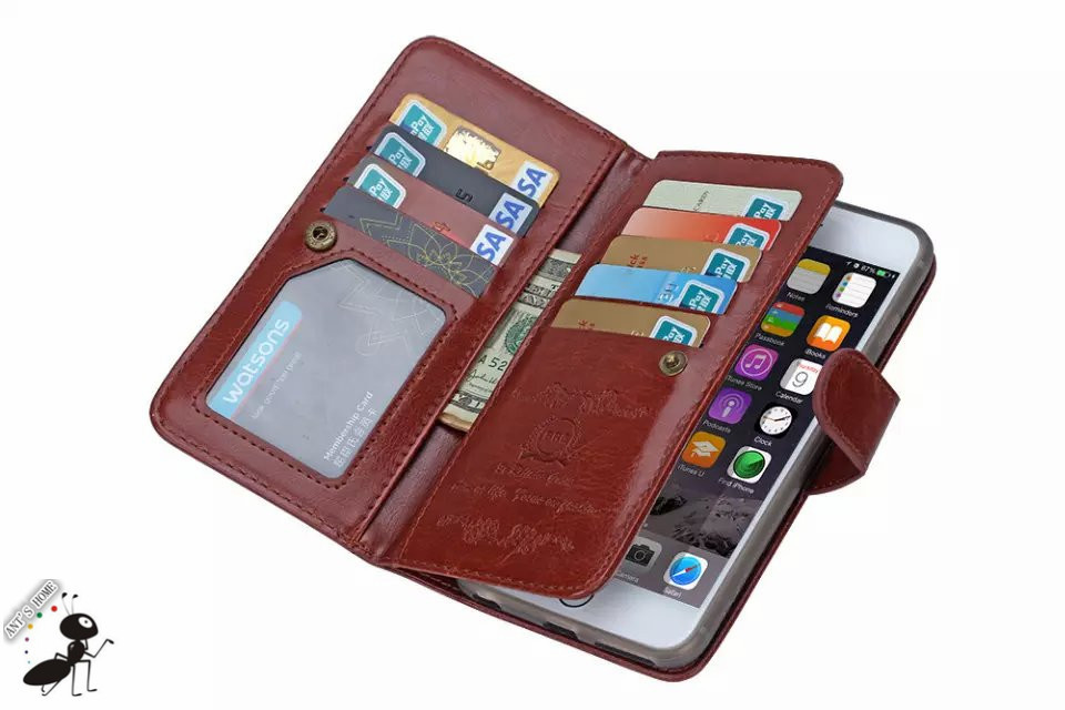 Aliexpress.com : Buy Business 9 Card Holders Case For iPhone 6 ...