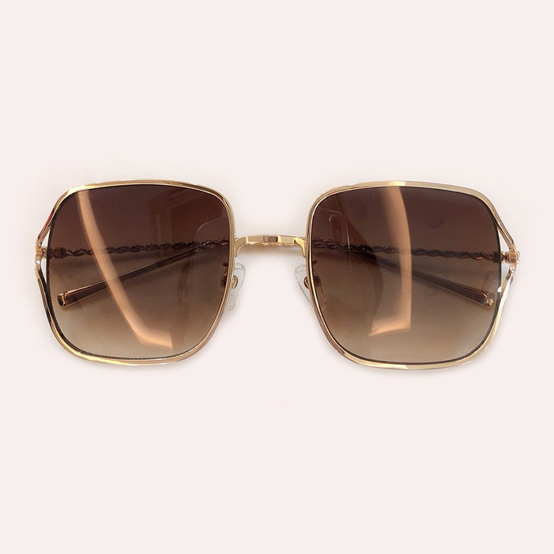 1 4 Sonnenbrille no Hohe 6 5 Brillen no Mode no no Rahmen Oculos Designer Box Luxus Frauen Legierung Mit Qualität No no Feminino Sol Quadrat De 2 2019 Marke 3 HrqH4St