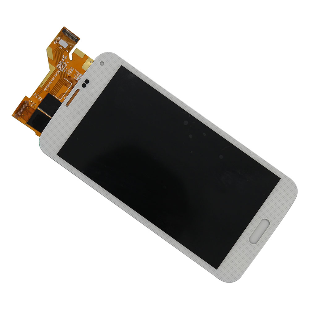 MZOO LCD Screen For Samsung S5 I9600 SM G900 G900A G900F G900P G900T LCD Display Tela Panel Digitizer Assembly Replace Parts in Mobile Phone LCD Screens from Cellphones Telecommunications