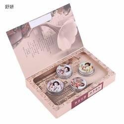 Бренд shuyan sycz-127 4 шт. сладкий цветочный парфюм аромат БАЛЬЗАМ твердые духи для Для женщин и ароматы дезодорант аромат