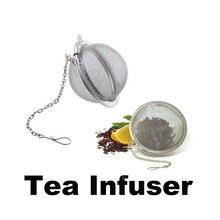 Stainless Steel Tea InfuserTea Mesh Ball Infuser Strainer Egg Shaped Tea Locking Spice Mesh
