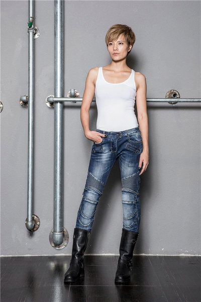 UglyBROS UBP 016 scarni dei jeans Degli Uomini dei jeans/Harley jeans giro Strada jeans da moto