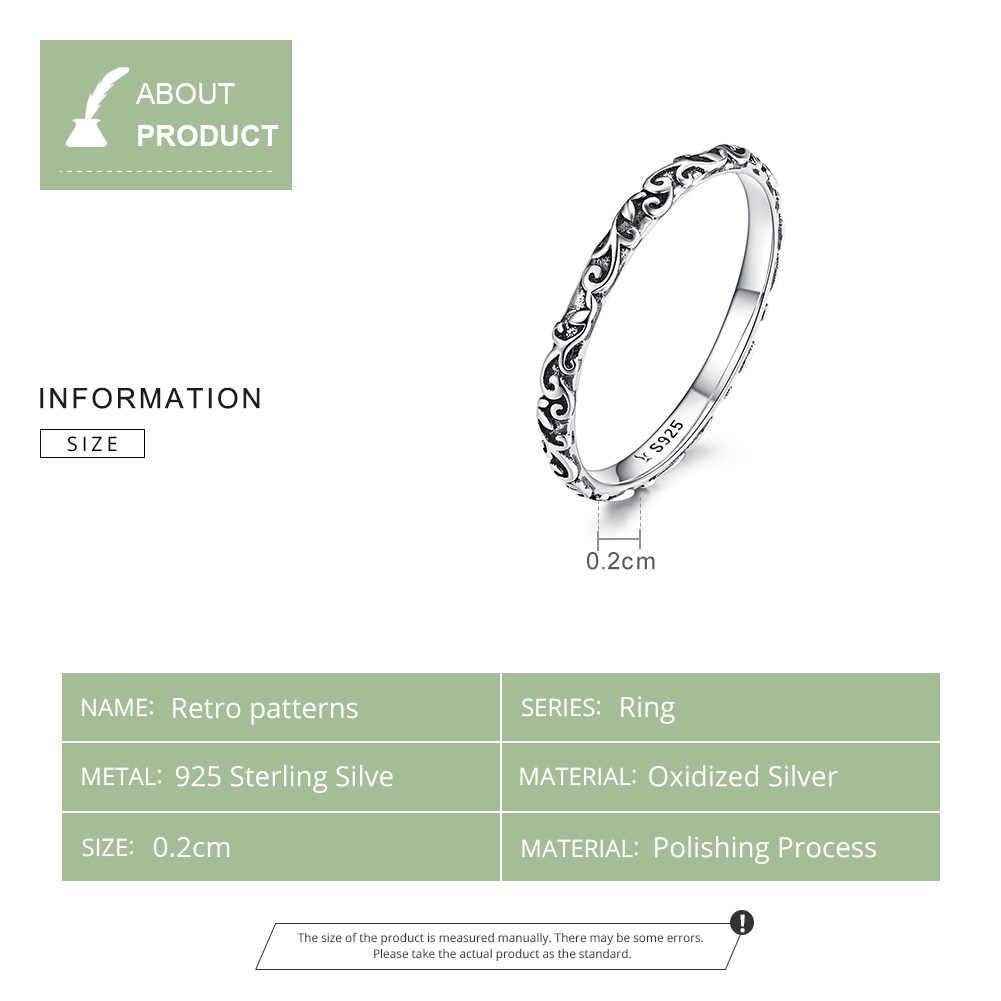 WOSTU เกาหลีสไตล์ดอกไม้แหวน 925 เงินสเตอร์ลิงแหวนนิ้วมือสำหรับผู้หญิงงานแต่งงานแฟชั่นเครื่องประดับ FIR513