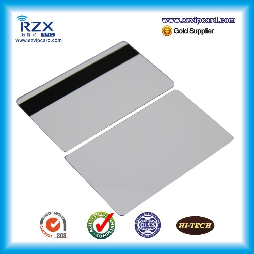 free shipping 20pcs Loco magnetic stripe card blank PVC card 300Oe жидкость loco french cake 60мл 0мг