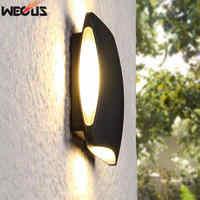 Engineering / home outdoor waterproof wall lamp, modern minimalist balcony / hotel exterior wall corridor led outdoor wall lamp