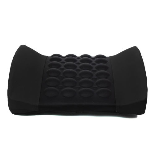 TOYL Black Car Back Lumbar Posture Support Electrical Massage Cushion Pillow 12V