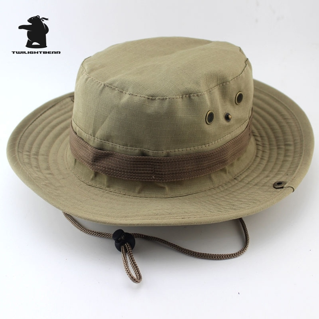 MULTICAM HAT ARMY BOONIE HAT 26 Colors Military Camouflage Bucket Hats Hunting Hiking Fishing Climbing Cap AF23 4
