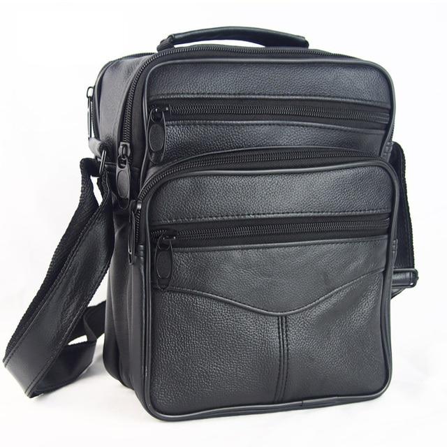 Hot Sale Fashion Designer Men Shoulder Satchel Bags Genuine Leather Crossbody Handbags Bags For Men Messenger Business Bag Bolsa