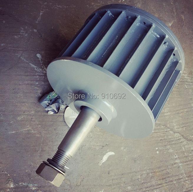 low RPM permanent magnet alternator 5KW ac 220v 110v 380v with base цена
