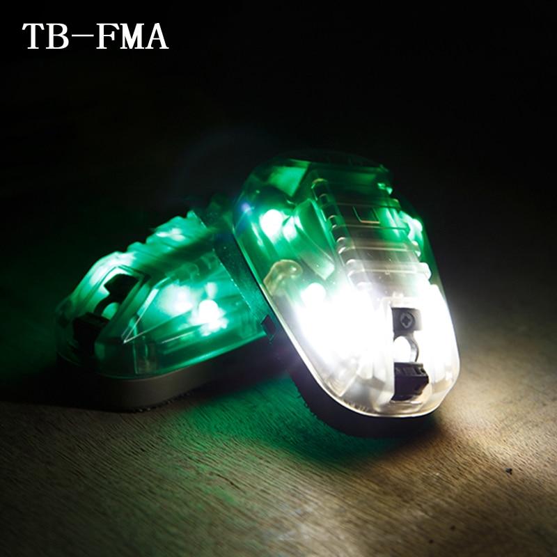 TB FMA Hunting Survival HEL STAR6 HEL STAR6 GEN III Green Safety Flash Light Black Desert