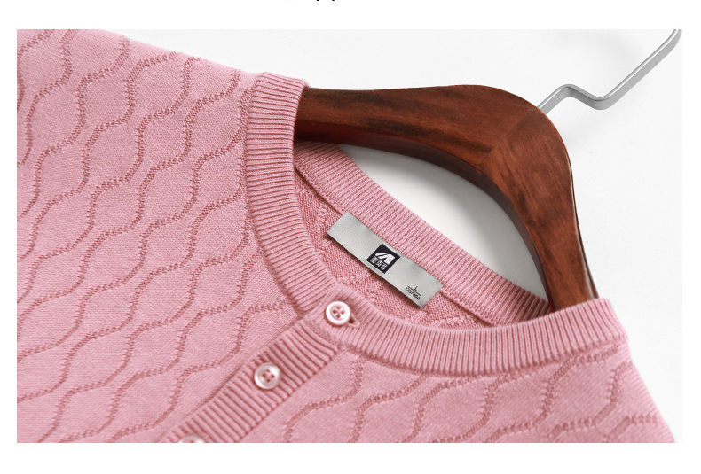 ce095956f03 Size M 3XL Mmaicco Men Pink Pullover Knitted Sweater for Men Long ...