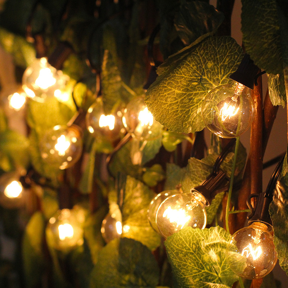 Image 5 - G40 Globe  Christmas String Light Party fairy garland wedding garden party tree street Patio Lights fairy Vintage Bulbs outdoor-in Holiday Lighting from Lights & Lighting