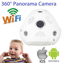 Free shipping!IP VR Camera 360 degree Panoramic 720P HD WIFI CCTV Home Security Indoor Baby Monitor