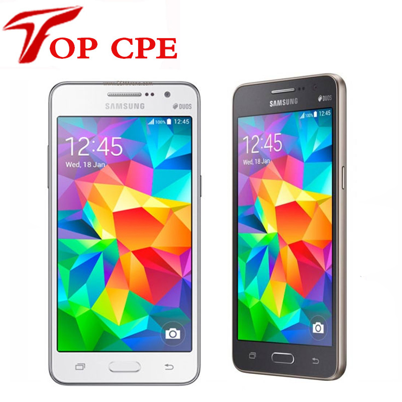 Refurbished Unlocked Original Samsung Galaxy Grand Prime G530 G530H Cell Phone Ouad Core Dual Sim 1GB