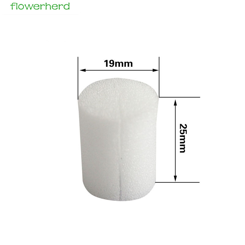 50pcs/Bag Soilless Hydroponic Sponges Vegetable Nursery Cultivation System Seed Trays Planting Gardening Tool 25x19mm